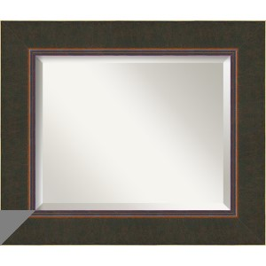 Milano Dark Bronze Medium Rectangular Mirror