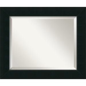 Corvino Black Medium Rectangular Mirror
