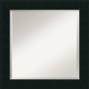 Corvino Black Square Mirror