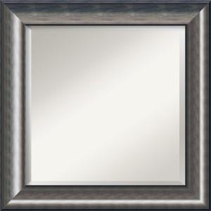 Quicksilver Burnished Silver Square Mirror