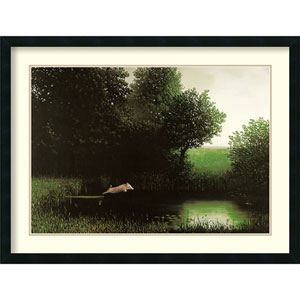 Diving Pig by Michael Sowa: 34 x 26-Inch Print Reproduction