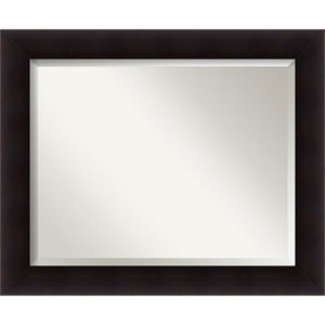 Portico Black Large Wall Mirror