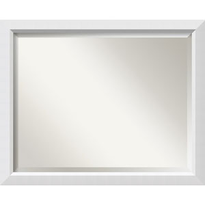 Blanco White Large Wall Mirror
