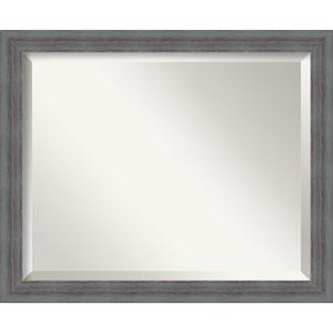 Dixie Grey Medium Rustic Wall Mirror