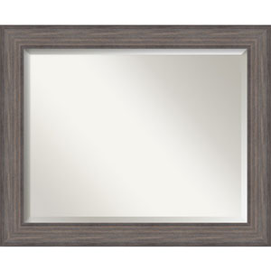 Country Barnwood Large Wall Mirror
