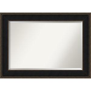 Mezzanine Black Extra Large Wall Mirror
