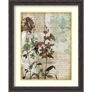 Music Box Floral I by Jennifer Goldberger: 27 x 33-Inch Framed Art Print