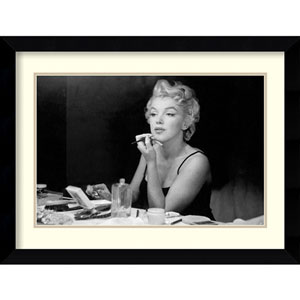 Marilyn Monroe - Back Stage by Sam Shaw: 32 x 23-Inch Framed Art Print