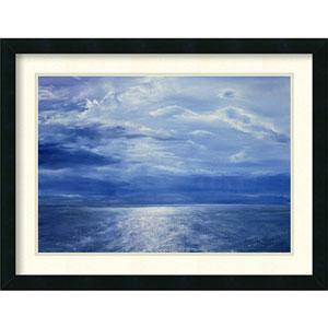 Deep Blue Sea, 2001 by Antonia Myatt: 26 x 20-Inch Framed Art Print