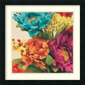 Pop Art Flowers I by Jocelyne Anderson: 21 x 21-Inch Framed Art