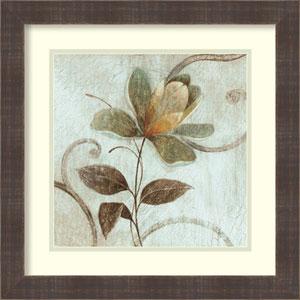 Floral Souvenir 1 by Okre: 18 x 18-Inch Framed Art