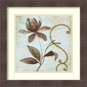 Floral Souvenir 2 by Okre: 18 x 18-Inch Framed Art