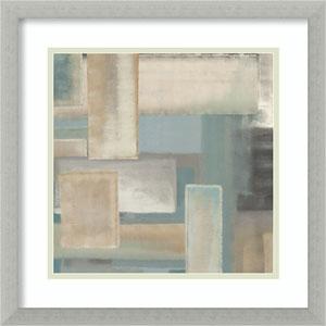 Aqua I by Italo Corrado: 17 x 17-Inch Framed Art