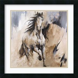 Frison Horse by Cyril Reguerre: 22 x 22-Inch Framed Art