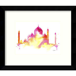 India Dreams by Jessica Durrant: 11 x 9-Inch Framed Art