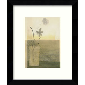 Morning Blooms by Dominique Gaudin: 9 x 11-Inch Framed Art