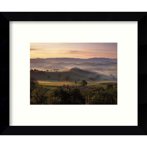 Dawn Mist Rising by Michael Hudson: 11 x 9-Inch Framed Art