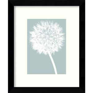 Dandelion by Jenny Kraft: 9 x 11-Inch Framed Art