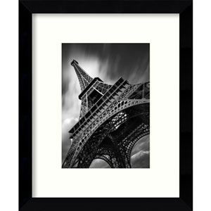 Eiffel Tower Study 2 2011 by Moises Levy: 9 x 11-Inch Framed Art