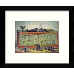 The Aquarium by Vintage Reproduction: 11 x 9-Inch Framed Art