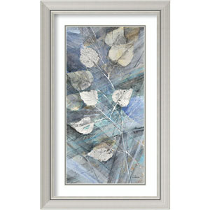 Silver Leaves I by Albena Hristova: 20 x 32-Inch Framed Art