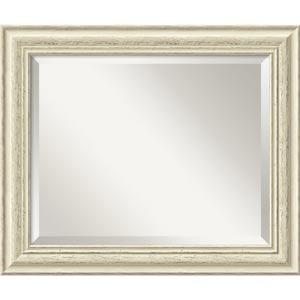 Country Whitewash Medium Mirror