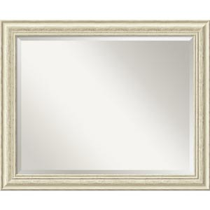 Country Whitewash Large Mirror