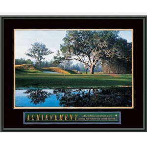 Achievement: Golf: 29 x 23 Print Reproduction
