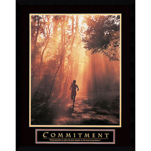 Commitment: 23 x 29 Print Reproduction