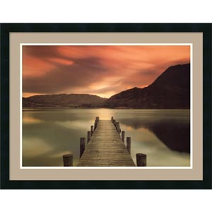 Ullswater, Glenridding, Cumbria by Mel Allen: 31 x 24 Print Reproduction