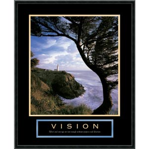 Vision: Lighthouse: 23 x 29 Print Reproduction