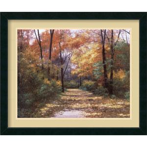 Autumn Road by Diane Romanello: 35 x 29 Print Reproduction