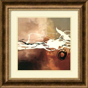 Copper Melody II by Laurie Maitland: 18 x 18 Print Reproduction