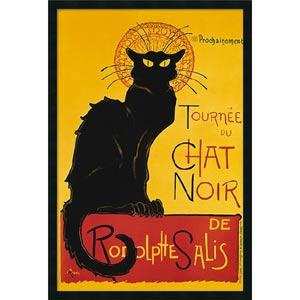 Tournee du Chat Noir by Theophile Alexandre Steinlen: 26 x 38 Print Reproduction