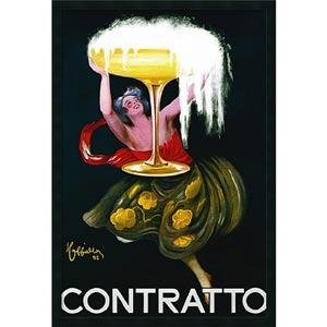 Contratto (ca.1922) by Leonetto Cappiello: 26 x 38 Print Reproduction