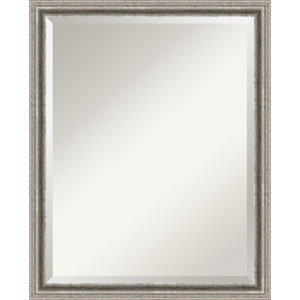 Bel Volto Pewter Large Wall Mirror
