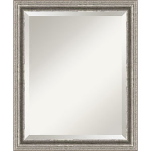 Bel Volto Pewter Medium Wall Mirror