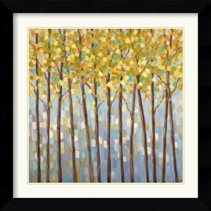 Glistening Tree Tops by Libby Smart: 26.6 x 26.6 Framed Print