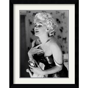 Marilyn Monroe, Chanel No. 5 by Ed Feingersh: 28.4 x 35.9 Framed Print