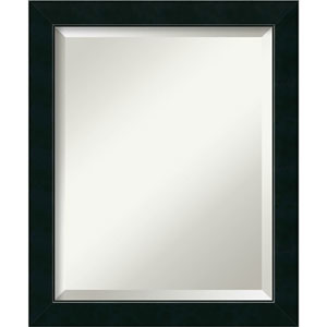 Black 19 x 23-Inch Medium Vanity Mirror