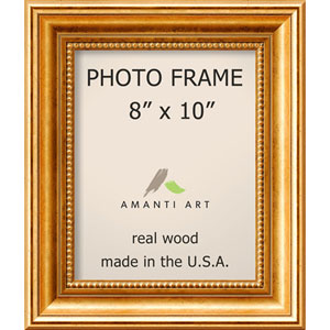 Townhouse Gold: 11 x 13-Inch Picture Frame