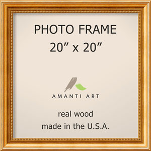 Townhouse Gold: 23 x 23-Inch Picture Frame