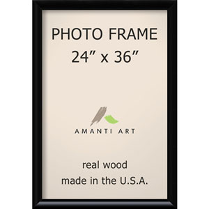 Steinway Black: 27 x 39-Inch Picture Frame
