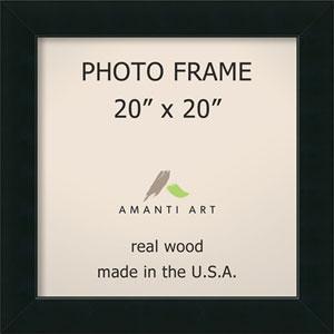 Corvino Black: 25 x 25-Inch Picture Frame