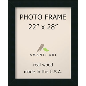 Corvino Black: 27 x 33-Inch Picture Frame