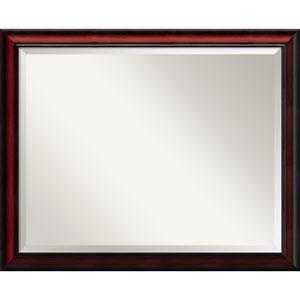 Rubino Cherry Scoop, 31 x 25 In. Framed Mirror