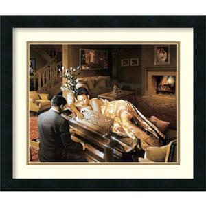Sonata by Edward Clay Wright: 22 x 19-Inch Framed Art Print
