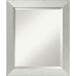 Brushed Silver 20 x 24-Inch Medium Vanity Mirror