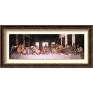 The Last Supper   By Leonardo da Vinci : 45 x 21-Inch