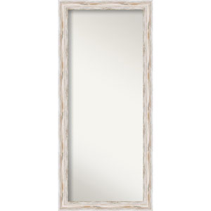 Alexandria 29 x 65-Inch Whitewash Floor Wall Mirror